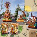 Disney Hakuna Matata Lion King digital scrapbook layout using Project Mouse (Animal) | Artsy & Pins by Britt-ish Designs and Sahlin Studio