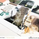 Safari Zoo digital scrapbook layout using Project Mouse (Animal) | Artsy & Pins by Britt-ish Designs and Sahlin Studio