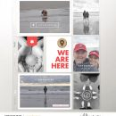 We Are Here Project Life scrapbook page layout using On Our Way - a travel collection by Sahlin Studio
