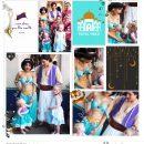Meeting Disney Princess Jasmine + Aladdin digital Project Life scrapbook layout using Project Mouse (Princess) Jasmine | Kit & Journal Cards by Britt-ish Designs and Sahlin Studio