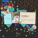 Meeting Disney Princess Jasmine + Aladdin digital scrapbook page layout using Project Mouse (Princess) Jasmine | Kit & Journal Cards by Britt-ish Designs and Sahlin Studio