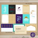 Project Mouse (Princess) Jasmine | Journal Cards by Britt-ish Designs and Sahlin Studio - Perfect for documenting Disney Jasmine or other magical moments in your Project Life / Project Mouse album!!
