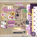 Project Mouse (Princess) Rapunzel | Kit by Britt-ish Designs and Sahlin Studio - Perfect for documenting Disney Tangled Rapunzel or other magical moments in your Project Life / Project Mouse album!!