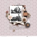 Gather Together Fall Digital Scrapbooking page using Autumn Stories | Journal Cards by Sahlin Studio