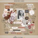 Autumn Stories | Elements by Sahlin Studio - Perfect for documenting your fall / autumn scrapbooks and Project Life albums!!