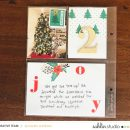 December Daily page using Holly Days by Sahlin Studio