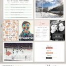 I am and Favorites Right Now - All About Me (Journal Cards and Word Art) by Sahlin Studio