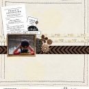Today's Adventure digital scrapbook page layout using Exploring - a travel collection by Sahlin Studio