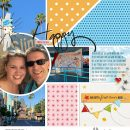 digital scrapbooking layout created by jenna featuring July 2020 FREE Template by Sahlin Studio