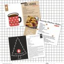 Christmas Recipe Card digital scrapbooking about Christmas using Favorite Things by Sahlin Studio
