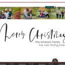 Family Christmas Card using Favorite Things by Sahlin Studio