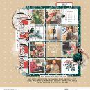 Merry Christmas Cheer digital scrapbooking layout using Favorite Things (Journal Cards) by Sahlin Studio