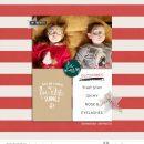 Holiday Favorites Cheers December digital scrapbooking layout using Favorite Things (Journal Cards) by Sahlin Studio