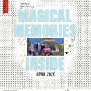 Magical Memories Inside Disney digital scrapbooking Album COVER layout using the Project Mouse (See Ya Real Soon) by Britt-ish Designs and Sahlin Studio