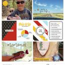 This Trip in Stats digital scrapbooking layout using the Project Mouse (See Ya Real Soon) by Britt-ish Designs and Sahlin Studio