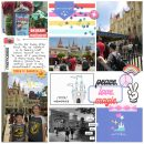Disney Peace Love Magic Digital Project Life scrapbook layout using Project Mouse (Pop) by Britt-ish Designs