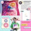 Universal Lard Lad Donuts Digital Scrapbooking Layout using Project Mouse (Pop) by Britt-ish Designs