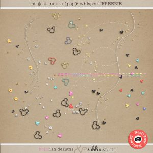 Project Mouse (Pop) Whispers FREEBIE by Sahlin Studio
