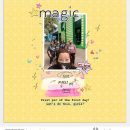 Disney Magic scrapbook layout using Project Mouse (Pop) Extras by Britt-ish Designs