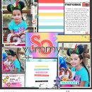 Disney So YUMMY scrapbook layout using Project Mouse (Pop) Extras by Britt-ish Designs