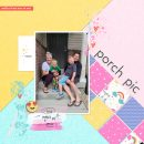 Porch Pic Digital scrapbook layout using Project Mouse (Pop) Extras by Britt-ish Designs