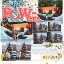 Disney Super Powers scrapbook Project Life layout using Project Mouse (Pop) Extras by Britt-ish Designs