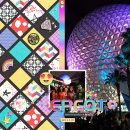 Disney EPCOT scrapbook Project Life layout using Project Mouse (Pop) Extras by Britt-ish Designs