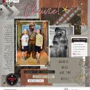 Disney Star Wars Chewie Wookie digital scrapbook layout using Project Mouse (Galaxy): by Sahlin Studio