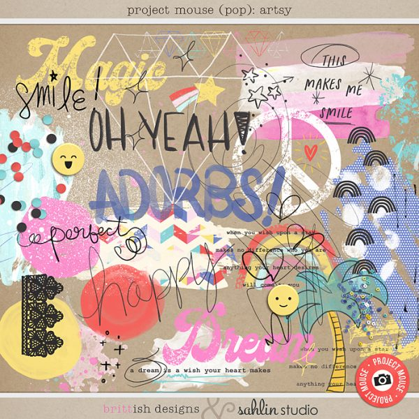 Project Mouse (Pop): Artsy by Britt-ish Designs and Sahlin Studio