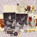 Harry Potter Wizard in Training Digital scrapbook page using Project Mouse (Wizarding) by Britt-ish Designs and Sahlin Studio