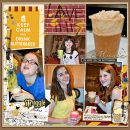 Harry Potter Butterbeer Digital project life page using Project Mouse (Wizarding) by Britt-ish Designs and Sahlin Studio